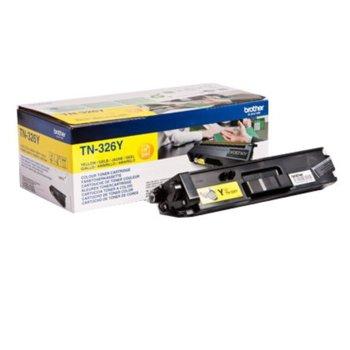 Тонер касета за Brother DCP L8400CDN/L8450CDW/HL-L8250CDN/L8350CDW/L8350CDWT/MFC L8650CDW/L8850CDW, Yellow - TN-326Y, Заб.: 3500 брой копия image