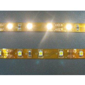 LED лента FS3528-60WW, 4.8W/m, DC 12V, топло бяла, 5m image