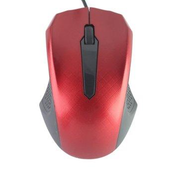 Мишка, оптична, 1200 DPI, USB, различни цветове image