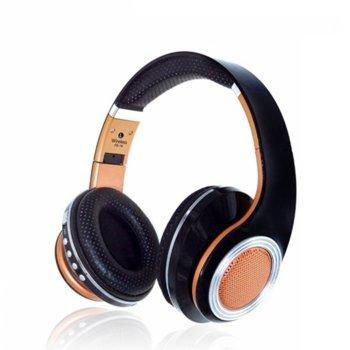 Слушалки FE-19, безжични, микрофон, различни цветове image