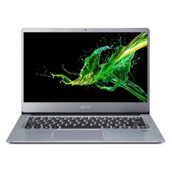 "Лаптоп Acer Swift 3 SF314-41 (NX.HFDEX.00J), четириядрен AMD Ryzen 5 3500U 2.1/3.7GHz, 14.0"" (35.56 cm) Full HD IPS Anti-Glare Display, (HDMI), 8GB DDR4, 512GB SSD, 1x USB Type-C, Windows 10 Home image"