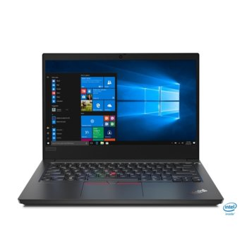 "Лаптоп Lenovo ThinkPad Edge E14 (20RA002UBM/3), четириядрен Comet Lake Intel Core i7-10510U 1.8/4.9 GHz, 14.0"" (35.56 cm) Full HD Anti-Glare Display, (HDMI), 16GB DDR4, 512GB SSD, 1x USB 3.1 Type C, Free DOS  image"