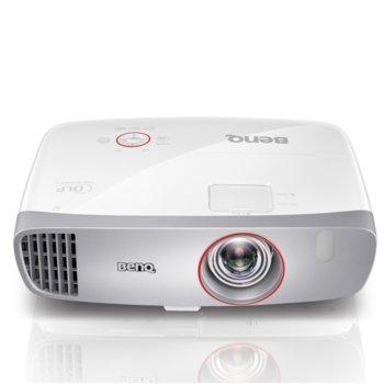 Проектор BenQ W1210ST, DLP, Full HD (1920 x 1080), 15 000:1, 2200 lm, 2x HDMI, D-sub, USB A, USB mini(TypeB), RS232 image