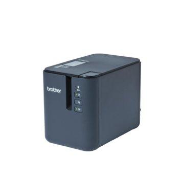 Етикетен принтер Brother PT-P950NW, 360 dpi, до 60 mm в секунда скорост на печат, 36 mm максимална ширина на етикета image