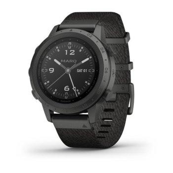 Смарт часовник Garmin MARQ™ Commander (010-02006-10), 30.4 мм диаметър на дисплея, 32GB памет, водоустойчив(10 ATM), черен image
