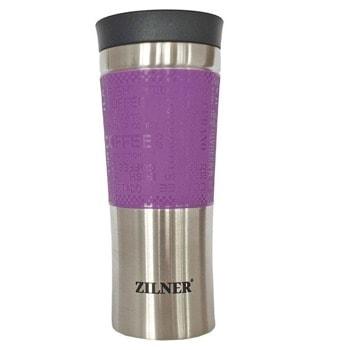 Термочаша Zilner ZL 4317, 480 ml, неръждаема стомана, двуслоен корпус, различни цветове image