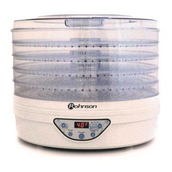 Уред за сушене на плодове и зеленчуци Rohnson R 290, таймер, вентилатор за равномерно сушене, 245W image