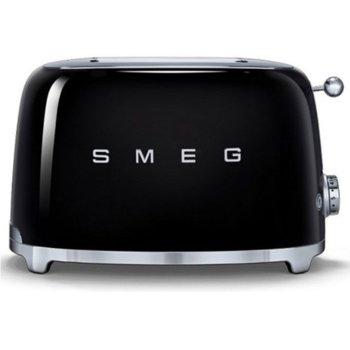 Тостер Smeg TSF01BLEU, функция отказ, автоматично центриране на филийките хляб, автоматично изваждане на филийките след печене, aвтоматично изключване, 7 степени на изпичане, 950 W image