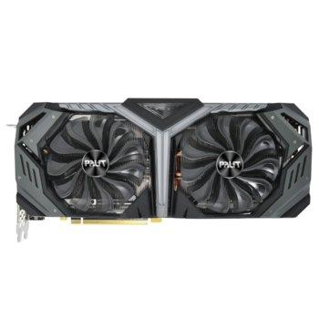 Видео карта nVidia GeForce RTX 2070 SUPER, 8GB, Palit GeForce RTX 2070 SUPER GR, PCI-E 3.0, GDDR6, 256bit, Display Port, HDMI, USB Type C image