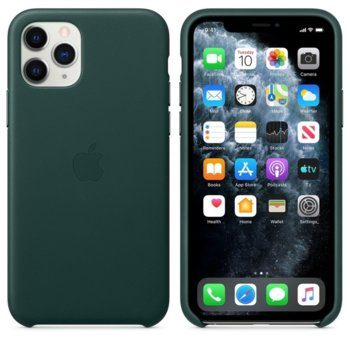 Apple Leather case iPhone 11 Pro green MWYC2ZM/A product