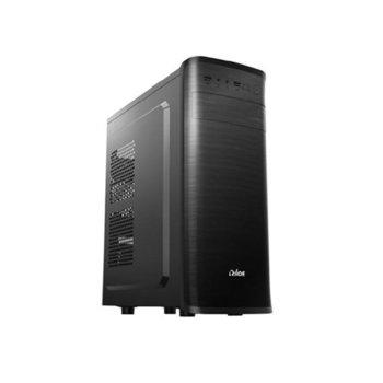 Кутия Golden Field E177, ATX/micro ATX, 2x USB 2.0, черна, 550W захранване image