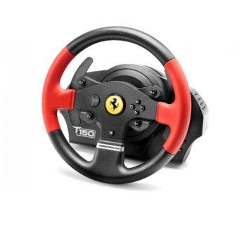 Волан Thrustmaster T150 Ferrari, 1080° въртене, Force Feedback, USB, PS3/PS4/PC image