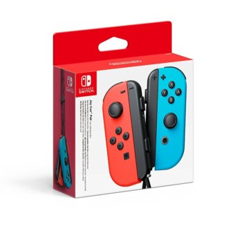 Геймпад Nintendo Switch Joy-Con, за Switch, безжичен, син/червен image