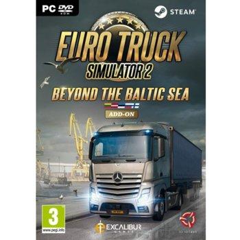 Допълнение към игра Euro Truck Simulator 2 - Beyond the Baltic Sea - Add on, за PC image