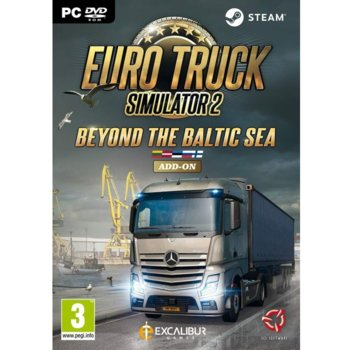Допълнение към игра Euro Truck Simulator 2 - Beyond the Baltic Sea - Add on, за PC image