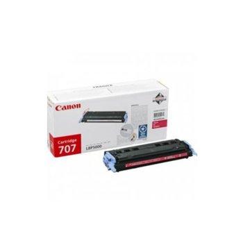 Касета за Canon LBP 5000/5100 - Magenta - CRG-707M - P№ 9422A004 - 2 000K image