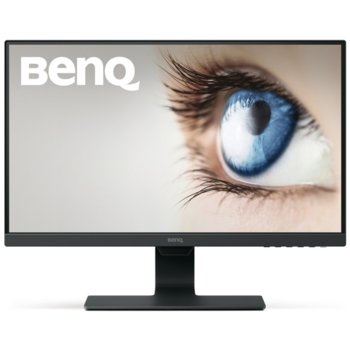 "Монитор BenQ GW2480E (9H.LHELB.CBE), 23.8"" (60.45 cm) IPS панел, Full HD, 5ms, 20,000,000 : 1, 250cd/m2, DisplayPort, HDMI, VGA image"