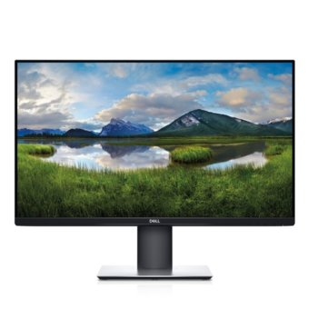 """Монитор Dell P2720DC, 27"""" (68.58 cm) IPS панел, WQHD, 5ms, 1 000:1, 350cd/m2, DisplayPort, HDMI, USB-C, USB image"""