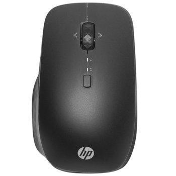 Мишка HP Bluetooth Travel Mouse, опчитна (3000 dpi), 2 програмируеми бутона, безжична, Bluetooth, USB, черна image