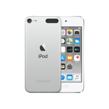 "MP4 плейър Apple iPod Touch (сребрист), 4.0""(10.16 cm) сензорен IPS Retina дисплей, A10 Fusion чип, 32GB Flash памет, 8Mpix & Facetime HD 1.2Mpix camera, Wi-Fi, Bluetooth 4.1, iOS 12 image"