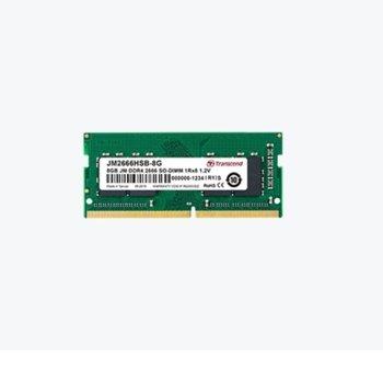 Памет 16GB DDR4 2666Mhz, SO-DIMM, Transcend JM JM2666HSB-16G, 1.2 V image