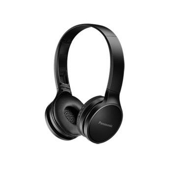 Слушалки Panasonic RP-HF400BE-K, микрофон, безжични, 20 часа време за работа, черни image