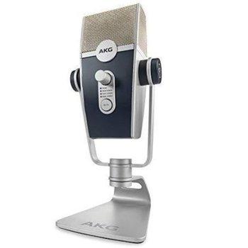 Микрофон JBL AKG Lyra, професионален, 20 - 20000 Hz, кардиоиден, бял image