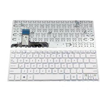 Клавиатура за лаптоп Asus съвместима със серия W3, W3J, A8, F8, N80, silver, US / UK с кирилица image
