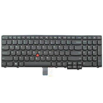 Клавиатура за Lenovo ThinkPad E531 E540 T540 T540p W540, US, черна image