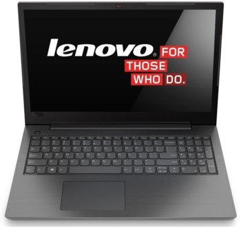 "Лаптоп Lenovo V130-15IGM (81HL002DRI)(сив), двуядрен Gemini Lake Intel Celeron N4000 1.1/2.6 GHz, 15.6""(39.62 cm) HD Anti-Glare Display(HDMI), 4GB DDR4, 1TB HDD, Free DOS, 1.85 kg image"