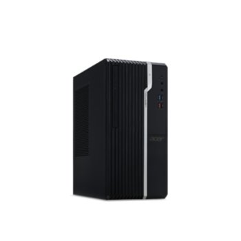 Настолен компютър Acer Veriton S2660G (DT.VQXEX.038), шестядрен Coffee Lake Intel Core i7-8700 3.2/4.6 GHz, 8GB DDR4, 1TB HDD & 256GB SSD, 2x USB 3.1, клавиатура и мишка, Endless OS  image