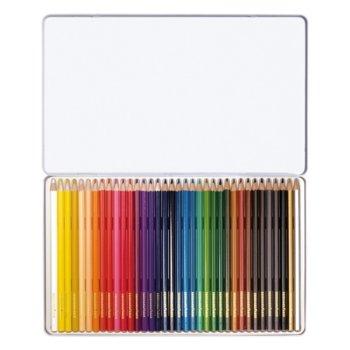 Цветен молив Eberhard Faber 36 цвята метална кутия product