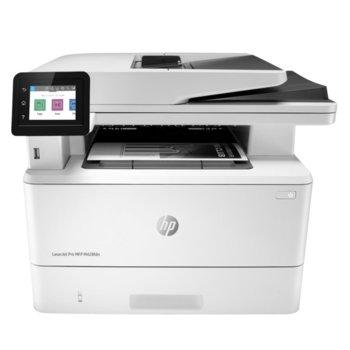 Мултифункционално лазерно устройство HP LaserJet Pro MFP M428fdn, принтер/копир/скенер/факс, 4800 x 600 dpi, 38 стр./мин, LAN, USB, A4 image