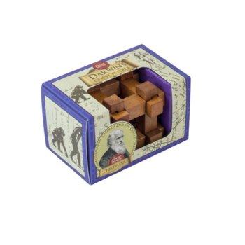 3D пъзел Proffesor Puzzle Great Minds Darwins Chest, дървен, 12 части, логически image