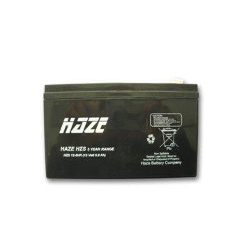Акумулаторна батерия Haze (HZS12-6HR), 12V, 6Ah, High Rate, AGM image