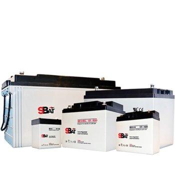 Акумулаторна батерия SBat SB12-7.2, 12V, 7.2Ah image