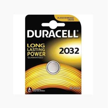 Литиева батерия Duracell CR2032, 3V, 1бр. image