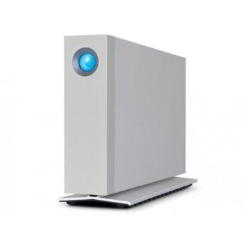 """Твърд диск 8TB, Lacie d2 (сребрист), външен, 3.5""""(8.89 cm), Thunderbolt 3 image"""