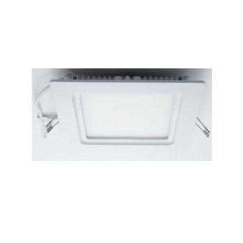 LED панел, ORAX O-P2020-NW-D, квадратен, 21W, AC 220V, неутрално бяла, Димиращ image
