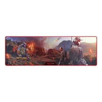 Подложка за мишка Marvo Gaming Mousepad G37 - Size-XL, гейминг, син, 920 x 294 x 3mm image