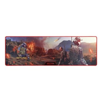 Подложка за мишка Marvo Gaming Mousepad G37 - Size-XL, гейминг, син, 920 x 294 x 3mm image