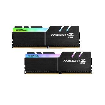 Памет 16GB (2x8GB) DDR4 4000MHz, G.SKILL Trident Z RGB, F4-4000C18D-16GTZR, 1.35V, RGB image