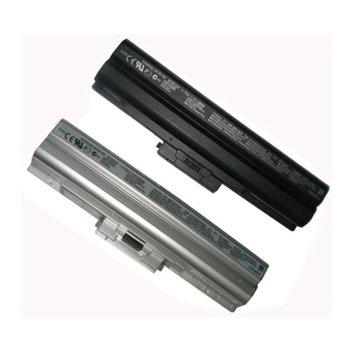 Батерия (заместител) за SONY Vaio VGN-CS, съвместима с VGN-AW/VGN-FW/VGN-NS/VGN-SR, 6cell, 11.1V, 5200mAh, без CD image