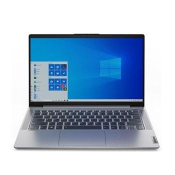 "Лаптоп Lenovo IdeaPad 5 14ITL05 (82FE008KBM)(сив), двуядрен Tiger Lake Intel Core i3-1115G4 4.1 GHz, 14"" (35.56 cm) Full HD IPS Anti-Glare Display, (HDMI), 8GB DDR4, 512GB SSD, 1x USB-C, No OS  image"
