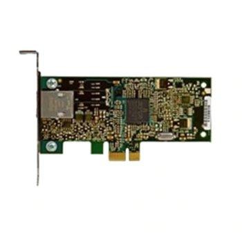 Мрежови адаптер Dell Network Additional Broadcom 5722 540-11366, от PCI-E x1 към 1x Gigabit Ethernet RJ-45 10/100/1000 image