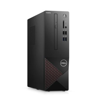 Настолен компютър Dell Vostro 3681 SFF (N207VD3681EMEA01_2101_1), шестядрен Comet Lake Intel Core i5-10400 2.9/4.3 GHz, 8GB DDR4, 256GB SSD, 4x USB 3.2 Gen 1, клавиатура и мишка, Windows 10 Pro image