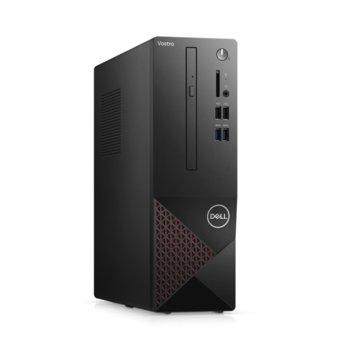 Настолен компютър Dell Vostro 3681 SFF (N207VD3681EMEA01_2101_1), шестядрен Comet Lake Intel Core i5-10400 2.9/4.3 GHz, 8GB DDR4, 256GB SSD, 4x USB 3.2 Gen 1, клавиатура и мишка, Windows 10 Pro image