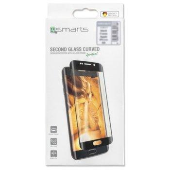 Протектор от закалено стъкло /Tempered Glass/, 4Smarts 4S493331, за Huawei P30, черма рамка image