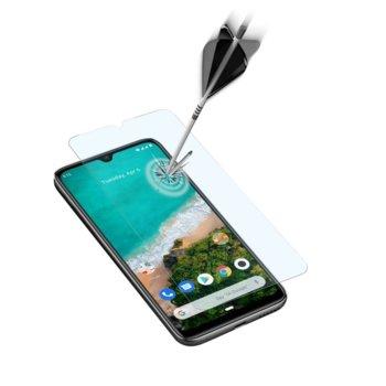 Протектор от закалено стъкло /Tempered Glass/ Cellularline Second Glass Capsule за Xiaomi Mi A3, прозрачен image
