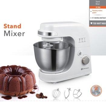 Кухненски робот Rohnson R-586, 700 W, 6 степени на работа, Pulse функция, защита от прегряване, бял image